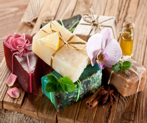 Soap from a famer's market